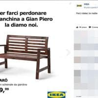 "Italia-Svezia, campagna social di Ikea: ""La panchina a Gian Piero la diamo noi"""