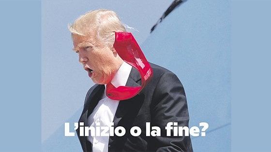 - 7 giorni alla nuova Repubblica: la seconda immagine della campagna pubblicitaria del giornale