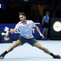 Tennis, Atp Finals: Federer in semifinale, Sock elimina Cilic