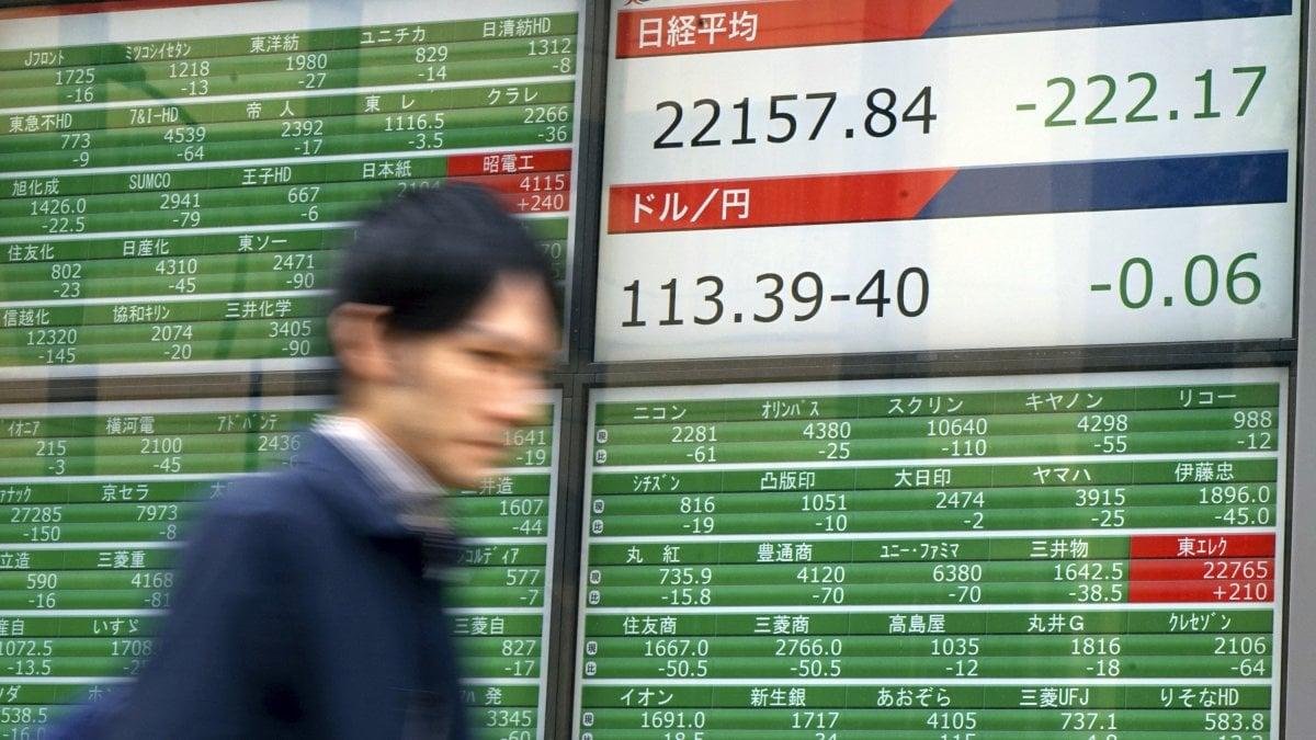 Borse in netto ribasso con le materie prime, crolla Tokyo ...