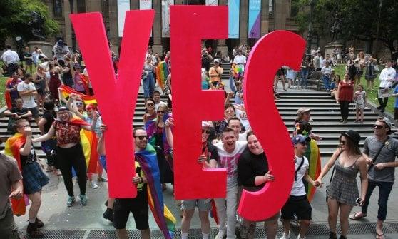 L'Australia legalizzerà i matrimoni gay: al referendum ha vinto il sì