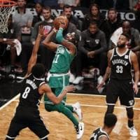 Basket, Nba: Boston fa 13, Toronto sbanca Houston