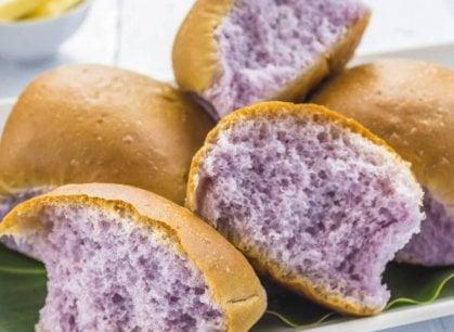 Leggero e digeribile (e di colore viola): ecco il super pane
