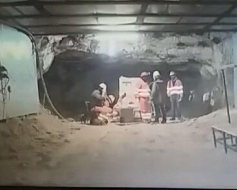 Risultati immagini per La miniera di Olmedo occupata da 72 giorni