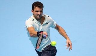 Tennis, Atp Finals: Dimitrov batte Goffin e vola in semifinale