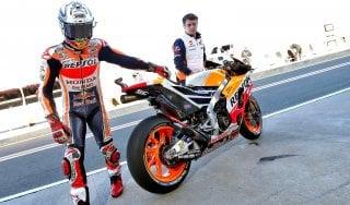 MotoGp, test Valencia: seconda giornata targata Honda, Marquez davanti a Pedrosa