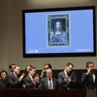 Record per il Salvator Mundi di Leonardo: venduto all'asta per 450 milioni