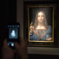Usa, venduto a 450 milioni di dollari il quadro 'Salvator Mundi' di Leonardo da Vinci: è record
