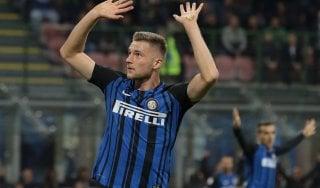 Inter, Skriniar: ''Basta prendere gol, così tutto diventa più difficile''