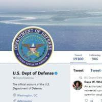 """Usa, Pentagono retwitta: """"Trump dimettiti"""". Poi si scusa: """"Un errore di un operatore"""""""