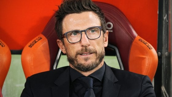 Roma, Di Francesco all'esame derby: ''Partita unica, spero sia una festa di sport''