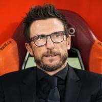 Roma, Di Francesco all'esame derby: ''Partita unica, spero sia una festa di sport''