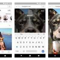Instagram, le Storie arrivano sul web