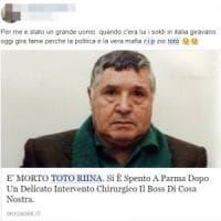 """""""Rip Totò Riina"""": sui social le condoglianze shock per la morte del capo dei capi"""