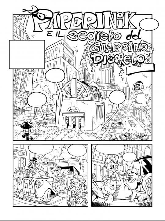 Il Ritorno Dei Ducktales Dietro Paperino E Famiglia Una Matita
