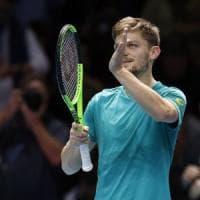 Tennis, Atp Finals: è Goffin il quarto semifinalista, sfiderà Federer