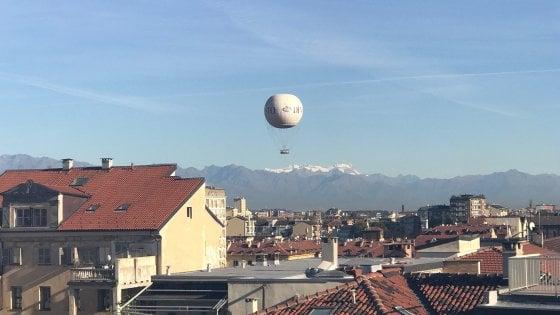 Torino, supervista dalla torre dell'albergo