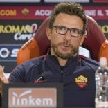 Di Francesco: ''Derby è  unico, spero sia festa''