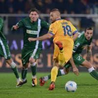Serie B, Frosinone-Avellino 1-1: Ciofani risponde a Castaldo