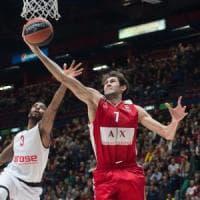 Basket, Eurolega: Milano rimonta Bamberg e centra il secondo successo di fila