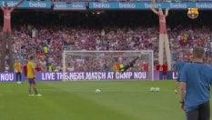 Il sinistro di Messi non perdona:il Barcellona mostra i gol inediti