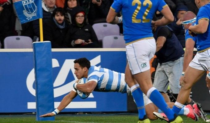 Rugby, l'Italia torna a perdere: Argentina troppo forte