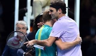Tennis, Atp Finals; impresa Goffin: batte Federer ed è in finale. Affronterà Dimitrov