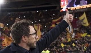 """Roma, Di Francesco: """"Vittoria meritata, abbiamo dominato"""""""