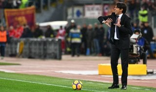 """Lazio, Inzaghi: """"Se commetti errori il derby lo perdi"""""""