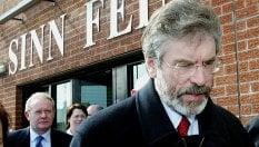 Irlanda del Nord, Adams lascia guida del Sinn Fein dopo 34 anni