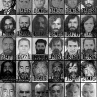 Charles Manson, fotostoria di un criminale