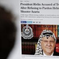 Israele, il presidente nega la grazia al soldato che uccise un terrorista palestinese...