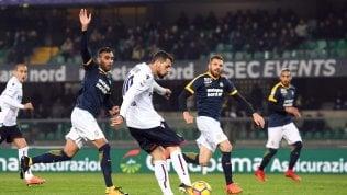 Tra campionato e ChampionsBologna batte il Verona 3-2