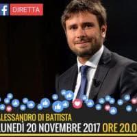"""M5s, Di Battista annuncia: """"Non mi ricandido, voglio girare il mondo e scrivere"""""""
