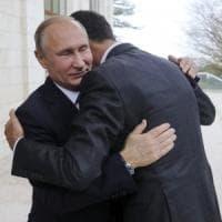 """Putin incontra Assad: """"Lotta terrorismo prossima a fine"""""""