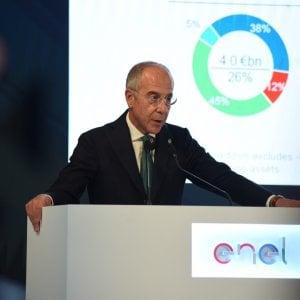 L'amministratore delegato di Enel Francesco Starace