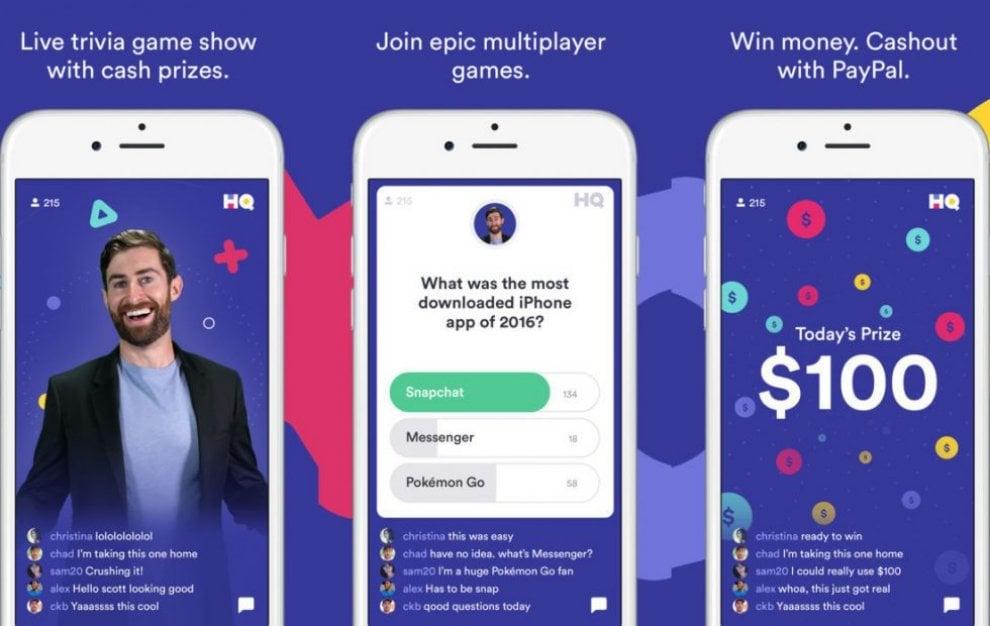 HQ Trivia, se il quiz show va in onda sull'app