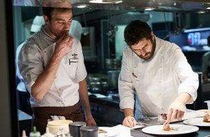 Matias Perdomo, lo chef-sarto che costruisce il menu  a misura del cliente
