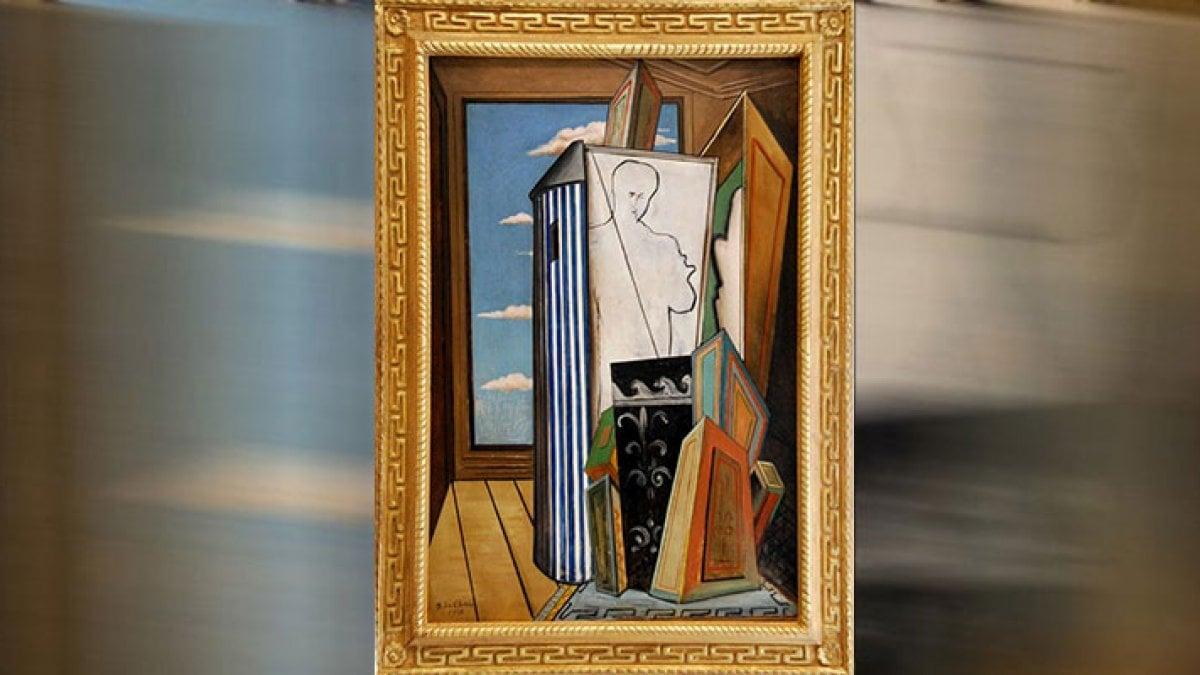 francia capolavoro di de chirico sparisce dal museo di b ziers. Black Bedroom Furniture Sets. Home Design Ideas