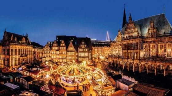 In visita a Brema, con uno dei Mercatini di Natale più belli della Germania