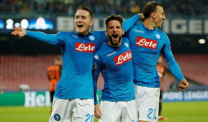 Champions, Napoli-Shakhtar 3-0: azzurri di nuovo in corsa per gli ottavi