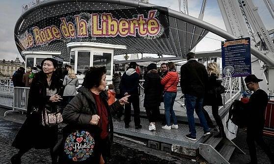 Parigi. L'ultimo Natale della Ruota della Concorde