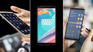 Gli smartphone ai tempi dell'iPhone X: sfida a 6