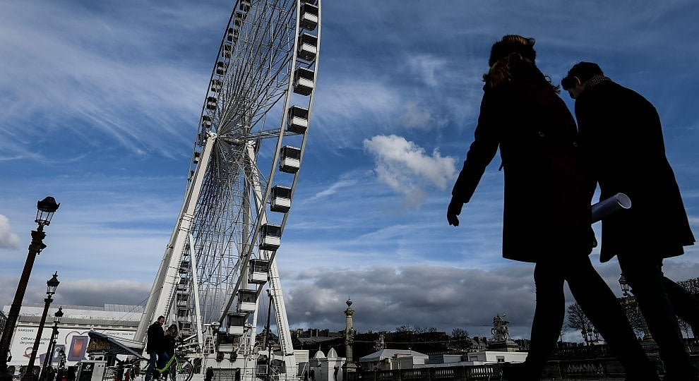 Parigi: l'ultimo Natale della Ruota della Concorde -    ft