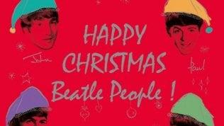Con i Beatles è già Natale: tornano i dischi per il fan club
