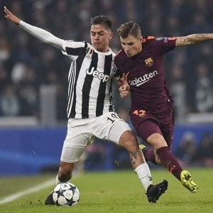 Champions, Juventus-Barcellona 0-0: niente ottavi, decisiva ultima con Olimpiakos