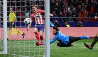 Atletico Madrid-Roma 2-0: sconfitta indolore, la qualificazione se batte il Qarabag