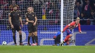 Juve pari col Barça, Roma ko con Atletico: nessuna italiana ancora qualificata agli ottavi