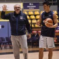 Basket, debutta la prima Italia di Sacchetti. ''Ragazzi, sorprendetemi''