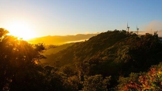 Energie green, il Costa Rica dà l'esempio: quasi un anno intero con le sole rinnovabili